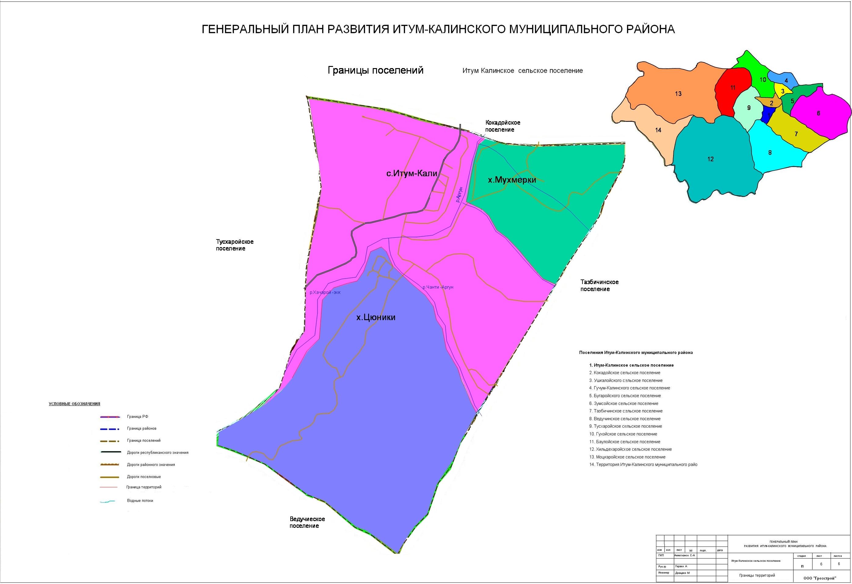 Границы Итум-Кали