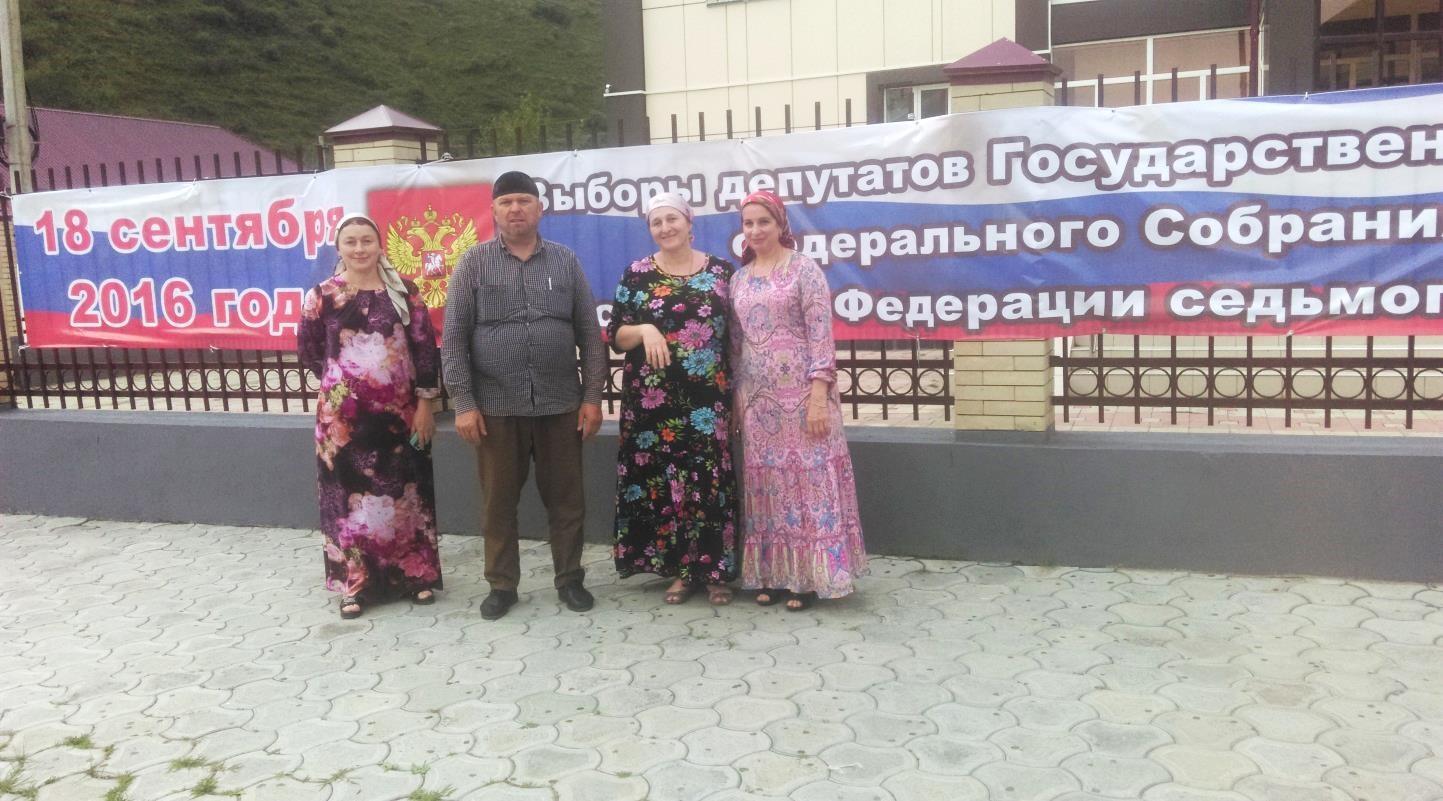 Список избирательных участков Итум-Калинского сельского поселения